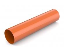 Водостічна труба Bryza 125 90 мм 3 м цегляний
