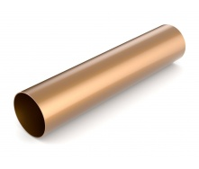 Водостічна труба Bryza 125 90 мм 3 м мідний