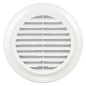 Вентиляційна решітка кругла Blauberg Decor ABS пластик 80 мм біла