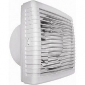 Вентилятор реверсивний віконний Домовент ВВР 180 25 Вт 212 м3/год 230х230 мм