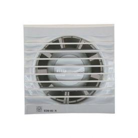 Вентилятор осьовий Soler&Palau EDM 80 N 9 Вт 80 м3/год 121,5х121,5 мм білий