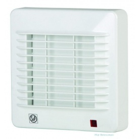 Вентилятор осьовий Soler&Palau EDM 100 C 13 Вт 95 м3/год 155х155 мм білий