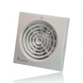 Вентилятор осьовий Soler&Palau Silent 100 cz безшумний 8 Вт 95 м3/год 158х158 мм білий