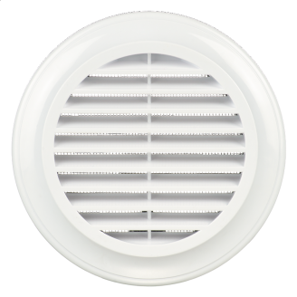 Вентиляционная решетка круглая Blauberg Decor ABS пластик 80 мм белая