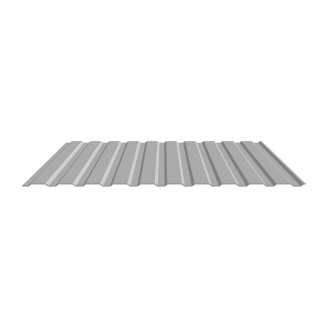 Профнастил стеновой Прушиньски T10 0,7х10х1195 мм AluZn