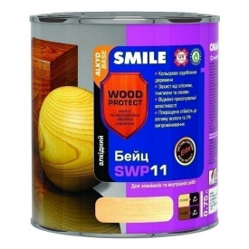 Бейц алкидный SMILE SWP-11 WOOD PROTECT Elite 0,75 л тик