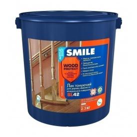 Лак акриловий SMILE SL-42 глянцевий 2,3 кг сосна