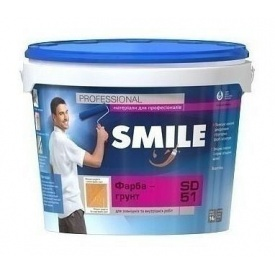 Краска-грунт SMILE SD-51 структурная 14 кг