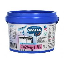 Эмаль акриловая SMILE SF-18 для радиаторов 0,35 кг белый