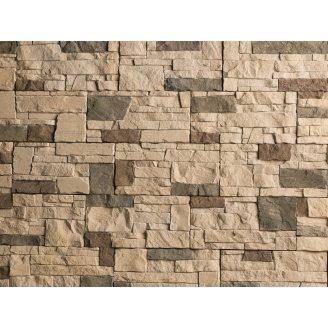 Плитка бетонная Einhorn под декоративный камень МАРКХОТ-1085, 125Х250Х25 мм