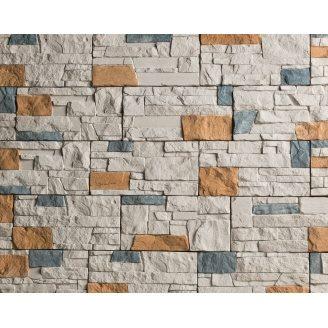 Плитка бетонная Einhorn под декоративный камень МАРКХОТ-1031, 125Х250Х25 мм