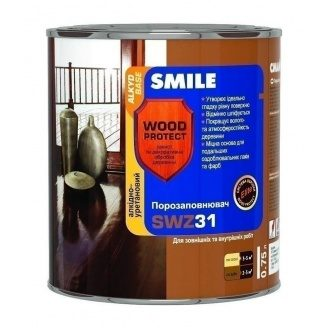 Порозаполнитель SMILE SWZ-31 WOOD PROTECT Elite 0,75 л