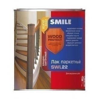 Лак паркетный SMILE SWL-22 полуматовый 0,75 л