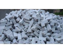 Кирпич силикатный навальный 250х120х88 мм белый
