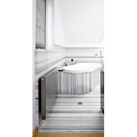 Мрамор Marmara white 30 мм белый с серым сляб