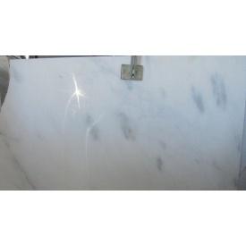 Мармур CANARIA WHITE білий з сірим вкрапленням сляб