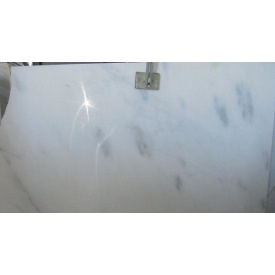 Мрамор CANARIA WHITE белый с серым вкраплением сляб
