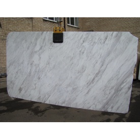 Мармур VOLOKAS 30 см сляб білий з сірим