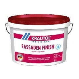 Фарба акрилова фасадна Krautol FASSADEN FINISH 10 л