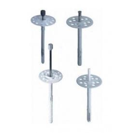 Дюбель-зонт фасадний Wkret-met 160 мм з металевим цвяхом і термоголовкою