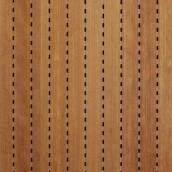 Панель акустическая Decor Acoustic шпонированный MDF 2400х576х17 мм вишня
