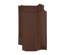 Черепица Braas Рубин 13V Ангоба 435х276 мм коричневый