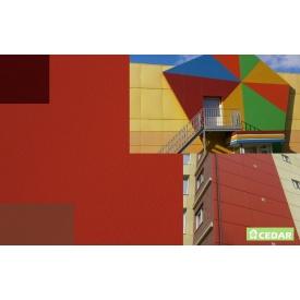 Фиброцементная плита Cedar 3000х1200 мм красная