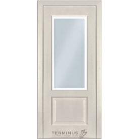 Міжкімнатні двері TERMINUS Classic Модель 04 ясен Грета полотно застеклене