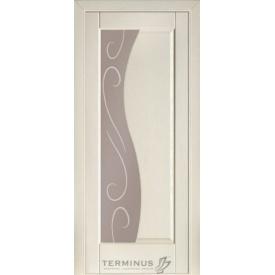 Межкомнатная дверь TERMINUS Modern Модель 16 ясень Грета полотно застекленное