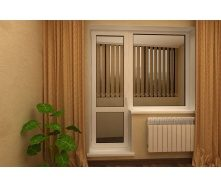 Стеклянная балконная дверь WDS Classic 700х2100 мм