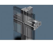 Структурная система фасадного остекления Экипаж