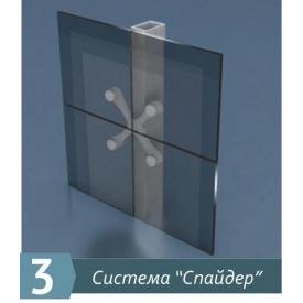 Система слайдер для фасадного скління Екіпаж