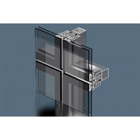 Структурна система фасадного скління Екіпаж