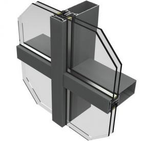 Стійко-ригельна система фасадного скління Екіпаж