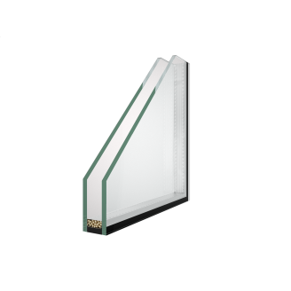 Однокамерний склопакет 4-16-4 34 дБ