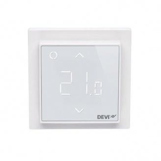 Терморегулятор DEVI DEVIreg Smart 85х85 мм RAL 9010 Pure White