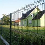 Секція євроогорожі 3х4 см 1,5х2,5 м зелена