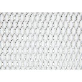 Сітка просічно-витяжна оцинкована 0,5 мм 1,8х6 мм 0,5х1,5 м