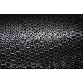 Сітка просічно-витяжна оцинкована 0,5 мм 25х60 мм 1х10 м чорна
