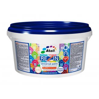 Краска универсальная Атолл Rezin SF-16 гидроизоляционная 0,9 кг синий