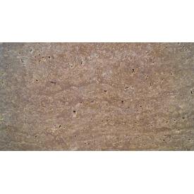 NOCE Travertine СС сляб шлифованный коричневый