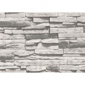 Шпалери паперові New Service Ексклюзив-Люкс 267 вологостійкі 10х0,53 м чорно-білий