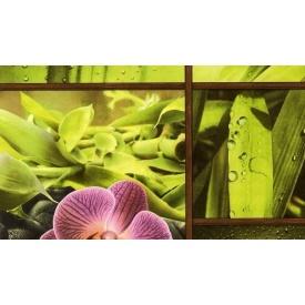 Шпалери паперові New Service Ексклюзив-Люкс 201 вологостійкі 10х0,53 м зелена оливка