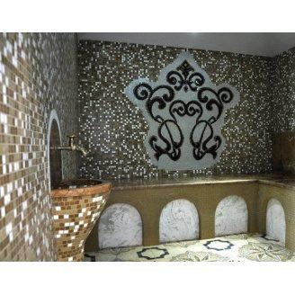 Отделка хамама мозаикой