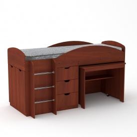 Детская кровать Универсал Компанит 1060х1942х892 мм яблоня