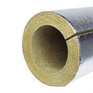 Утеплювач для труб PAROC Pro Section 100 з алюмінієвою фольгою 219 мм 50 мм