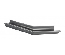 Угол желоба Прушиньски Niagara внешний нестандартный 110 мм серый
