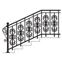 Кованные лестницы, перила