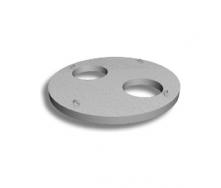 Плита перекрытия колодца БЗСК ПП 22-22-15 2200х2200х150 мм 2 т