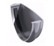 Заглушка желоба ТехноНИКОЛЬ 125 мм серый